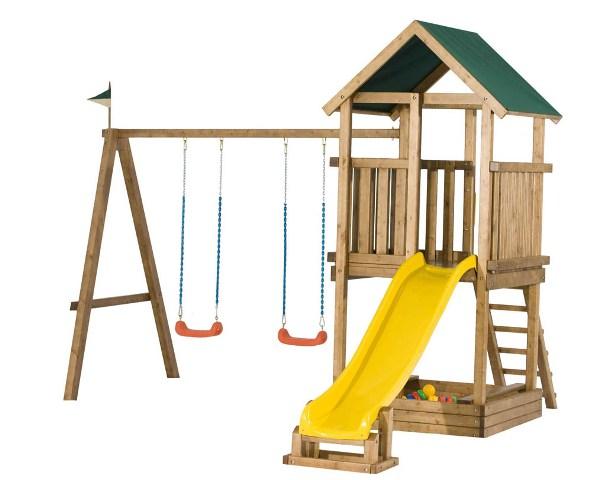 Сегодня, 21 июня, в 14.00 состоялось открытие игровой площадки на территории Детской республиканской больницы.